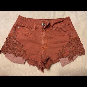 Size 4 AE Jean Shorts